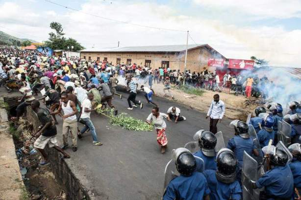 The Protests in Burundi Continue Even After the Failed Coup